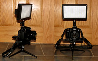 Canon SX50 with LED Light Panel