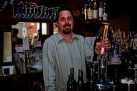 060915_1341_5D Rob Tends Bar at Rosie's 85th Birthday