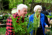 170512_3049_NX1 John T Mickel, Curator of Ferns Emeritus at The New York Botanical Garden and His Wife Carol Visit Teatown's 2017 PlantFest