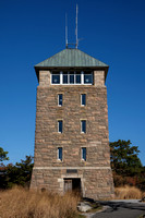Perkins Tower at the Summit of Bear Mountain