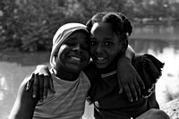 740800_0001_F1 Two Happy Young Ladies in the Park