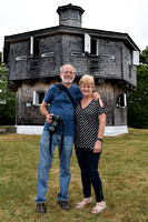 170804_DSC 2157_NIKON D3400 My Cousin Patty and I at Maine's Fort Edgecomb State Historic Site_photo coutesy of Patty's Husband Tim